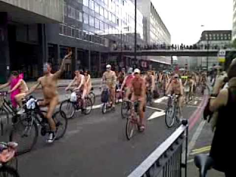 World Naked Bike Ride London, 13th June 2009