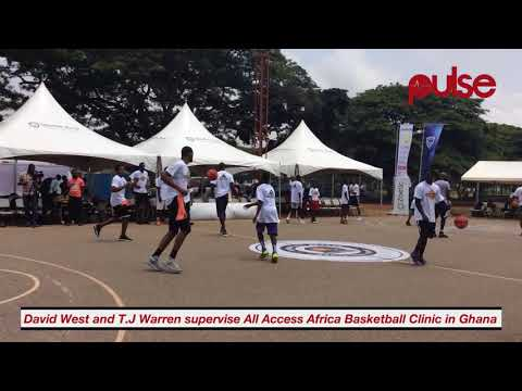 Basketball Clinic in Ghana | All Sports uncut