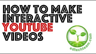 How to Create an Interactive YouTube Video (YouTube Annotations)(In this video I show you how to create an interactive YouTube video. Adding interactivity is a great way to boost engagement and rigor with the videos you create ..., 2014-10-22T02:48:05.000Z)