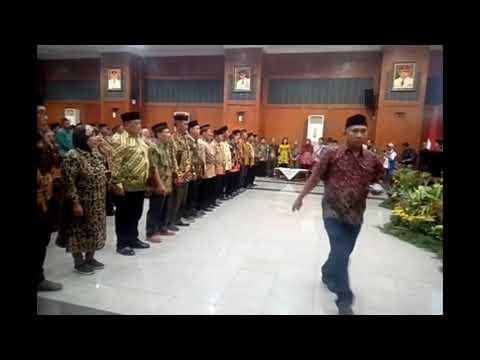 Pelantikan RT, RW dan LPMK se kecamatan Bubutan
