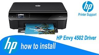 HP Envy 4502 Driver, Full Installation Guide