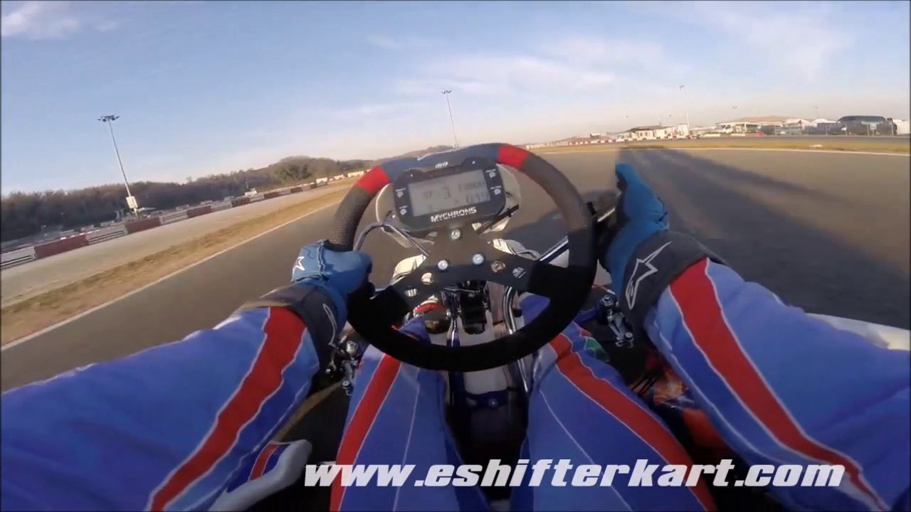 Shifter Kart Free Practice At South Garda Karting With Ckr Driver Alessandro Pelizzari Eshifterkart