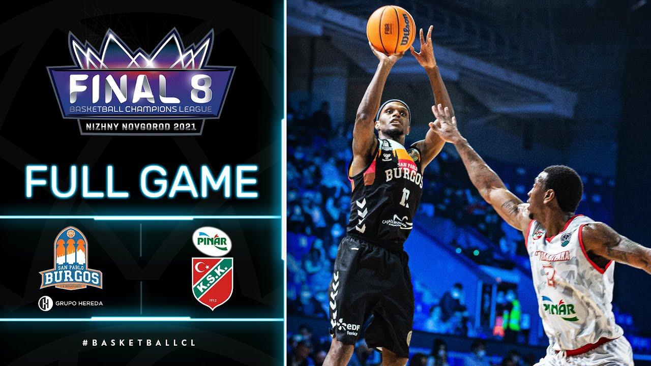 Hereda San Pablo Burgos v Pinar Karsiyaka - Full Game | Basketball Champions League 2020/21