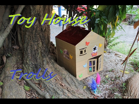 Cardboard houses for kids Branch and poppy DIY