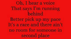 I'm In A Hurry - Alabama - Lyric Video