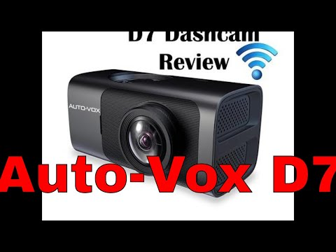 BEST REVIEW!! AUTO-VOX D7 WiFi Dash Cam with GPS - Unbox and Review