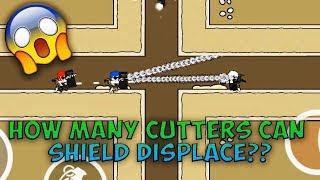 Mini Militia How Many Cutters Can A SHIELD DISPLACE ?   Da2 Mini Militia Weird Questions #1