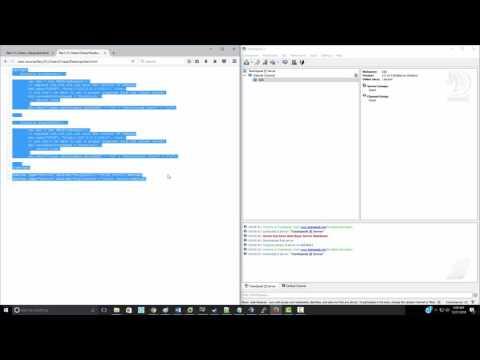 TeamSpeak 3 AJAX XMLHttpRequest