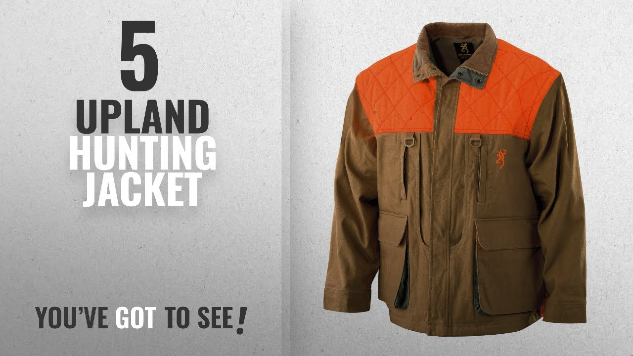 17aedbc4c957a Top 10 Upland Hunting Jacket [2018]: Browning Pheasants Forever ...