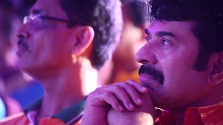 Mammootty watching Narumugaye Dance performed by Redlands Staff members