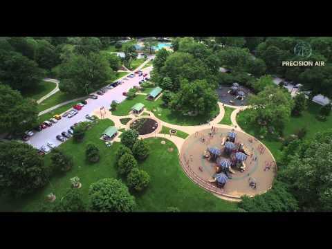 Deming Park, Terre Haute Indiana (Inspire 1)