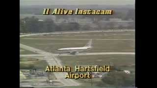 WXIA-TV News on Frontier Jet Hijacking...Oct 20, 1977
