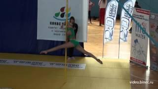 Дисциплина -Спорт на Пилоне  Дети 10 14 лет  Девочки  Подгруппа В