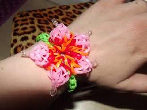 Bague a fleur elastique