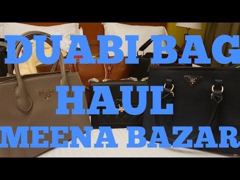 Dubai Bag Haul | Meena Bazar | Dubai Shopping | Rashmi Raorane