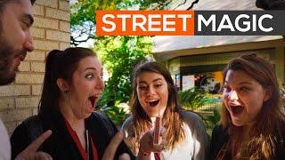Brakebills Admissions Video Street Magic | Agustin Tash | The Magicians | Syfy