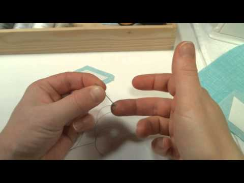 How to English Paper Piece Part 1: Supplies and Basting using Snowflakes Freezer Paper Shapes