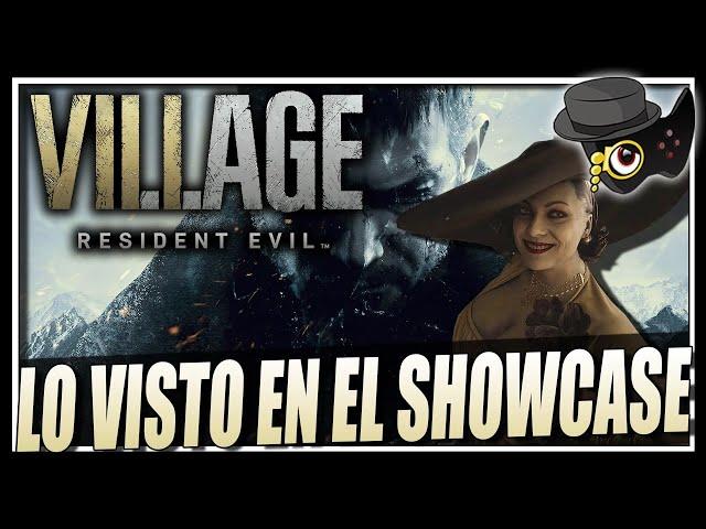 HABLEMOS DE RESIDENT EVIL VILLAGE Y EL SHOWCASE -PARTICIPA-