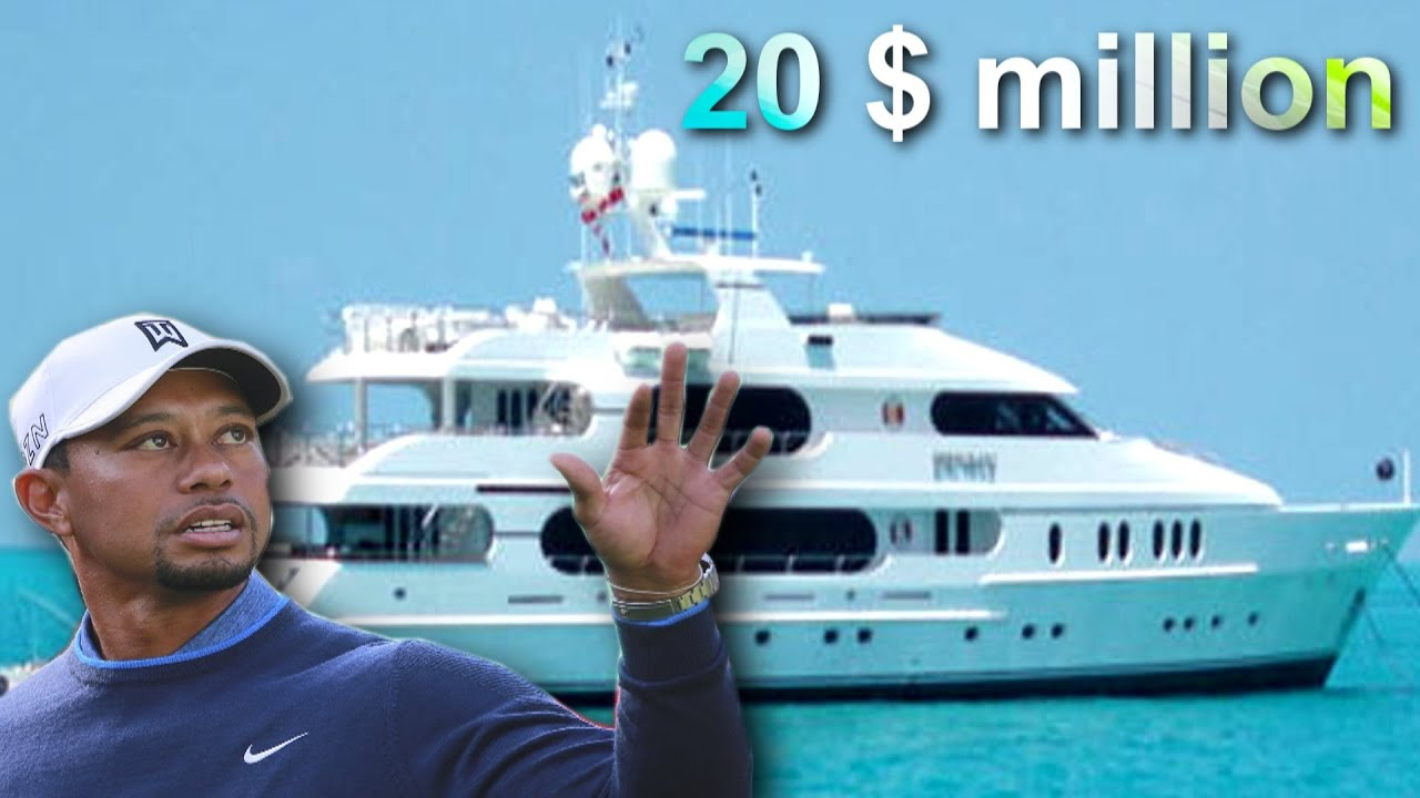 Tiger Woods Super Luxury Yacht Privacy 20 Million