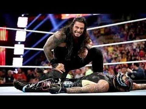 WWE Survivor Series 2013 Roman Reigns Spears Rey Mysterio!