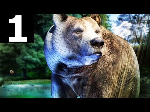 Bear Simulator Part 1 - Bear Wearing Canada Hat, Eating Pizza - Gameplay (No Commentary)