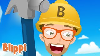 Tools Song | Blippi | Songs for Kids! | Kids Learning Videos | Nursery Rhymes | ABCs And 123s