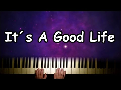 It´s a Good Life by Rea Garvey on the piano