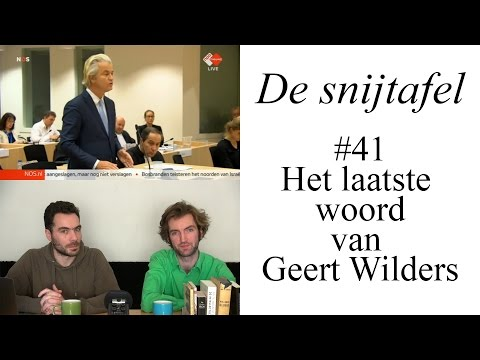 The Dissecting Table - Geert Wilders' final statement (#41) (ENGLISH SUBTITLES)
