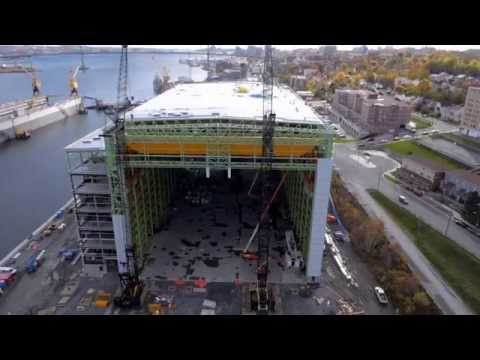 Irving Shipbuilding Footage