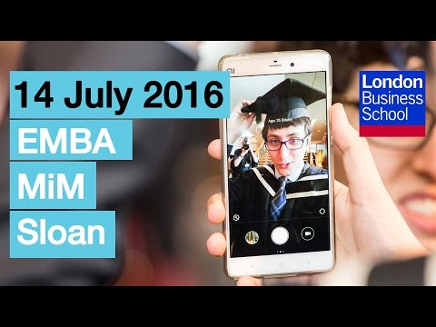 Relive Congregation 2016 – Thursday 14 July: EMBA, MiM, Sloan | London Business School