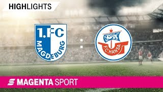 1. FC Magdeburg - Hansa Rostock | Spieltag 12, 19/20 | MAGENTA SPORT
