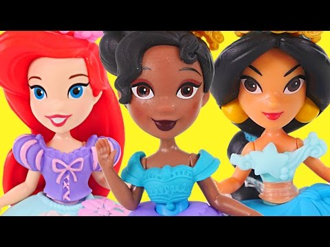 NEW Disney Princess Little Kingdom Dolls - ARIEL, JASMINE, RAPUNZEL, TIANA