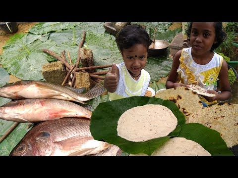 Sri Lankan Village Tank Fish Curry 🌴 Coconut Roti