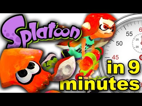 Thumbnail: The History of Splatoon - A Brief History