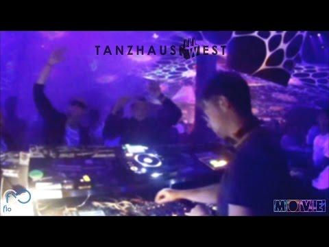 Flo Circus @ Tanz in den Mai Tanzhaus West Frankfurt Opening for Sasha Carassi Techno Set
