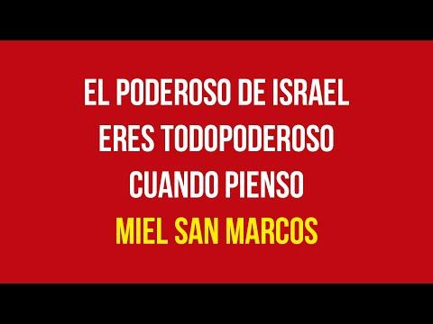 El Poderoso De Israel, Eres Todopoderoso \u0026 Cuando Pienso - Miel San Marcos (Con Letra) | Pentecostés