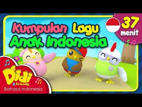 Lagu Anak Indonesia 37 Menit | Kalau Kau Suka Hati & Lain-Lain | Didi & Friends