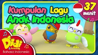 Lagu Anak Balita Indonesia | Kalau Kau Suka Hati & Lain-Lain | Didi & Friends |  37 Menit