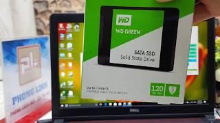 SSD WD Green 120G giá rẻ, vì sao SSD Samsung tốt hơn? Laptop Phong Linh review nhé!
