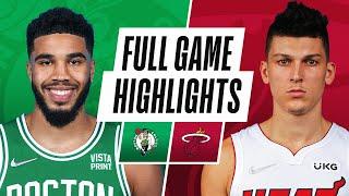 CELTICS at HEAT   NBA PRESEASON FULL GAME HIGHLIGHTS   October 15, 2021
