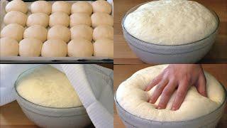 ✧ УНИВЕРСАЛЬНОЕ ЧУДО-ТЕСТО, Мое Любимое! Без Яиц и Молока ✧ Universal yeast dough ✧ Марьяна