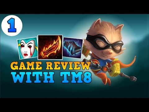 BEST TEEMO BUILD RIGHT NOW?? - TM8 Game Review #1