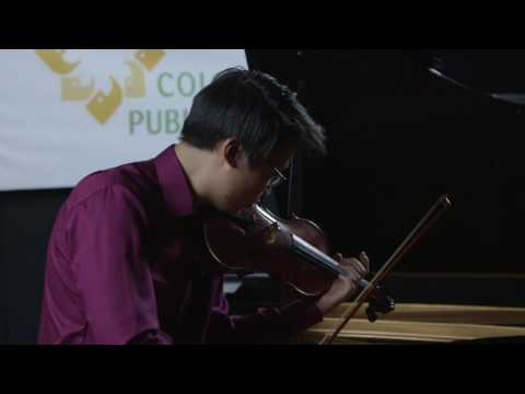Bryant So plays Pablo de Sarasate at CPR Classical