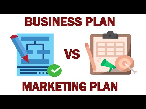 Difference Between Business Plan Vs Marketing Plan
