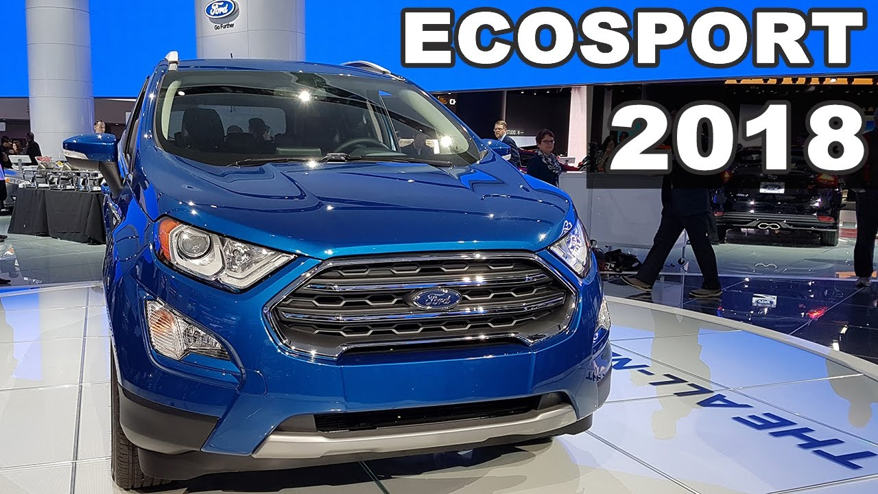novo ford ecosport 2018 em detalhes youtube. Black Bedroom Furniture Sets. Home Design Ideas