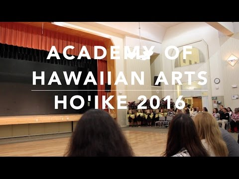 Academy of Hawaiian Arts Ho'ike 2016