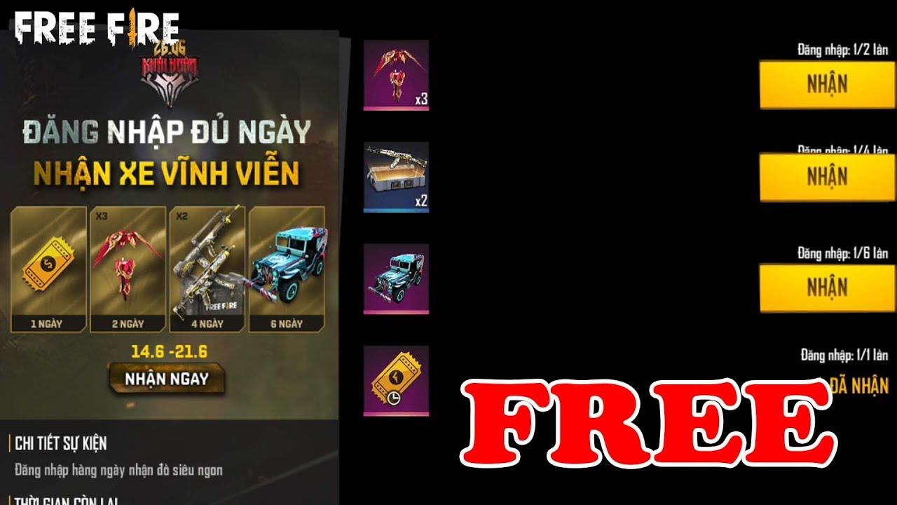 Cách Nhận Skin Xe Thanh Long FREE 100%, Test Chế Tác M1014 Khải Huyền | Free Fire