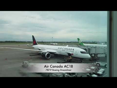 Trip Report | Taipei To Vancouver | TPE To YVR | AC18 On Air Canada | Premium Economy | Boeing 787-9
