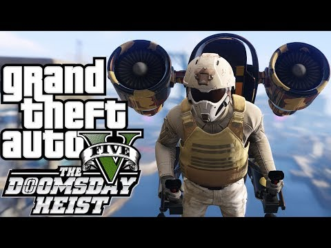Grand Theft Auto V - GTA 5 DOOMSDAY HEIST Missions Gameplay NEW CARS WEAPONS MISSIONS GTA 5 DLC