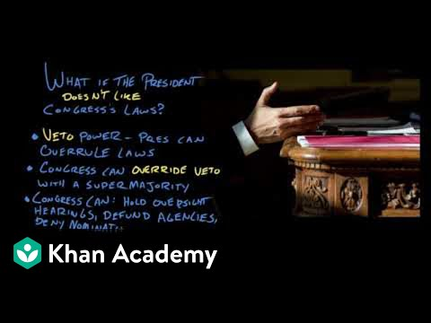 Article I of the Constitution | US Government and Politics | Khan Academy